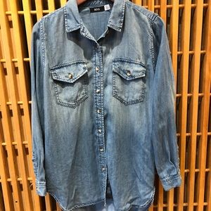 BDG urban outfitters chambray button down